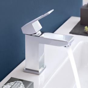 Grohe Eurocube Einhand-Waschtischbatterie ohne Ablaufgarnitur, DN 15