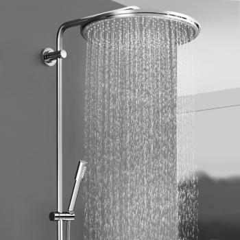grohe rainshower system 400 duschsystem mit. Black Bedroom Furniture Sets. Home Design Ideas