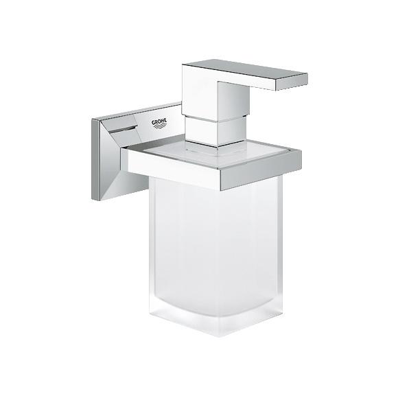 grohe allure brilliant halter mit seifenspender 40494000. Black Bedroom Furniture Sets. Home Design Ideas