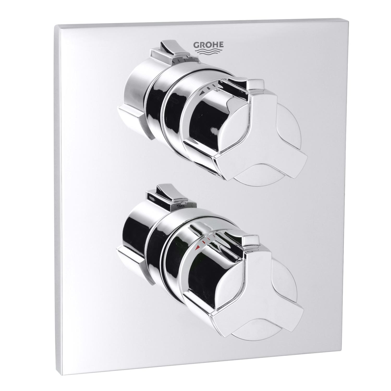 grohe allure thermostat brausebatterie 19380000 reuter onlineshop. Black Bedroom Furniture Sets. Home Design Ideas