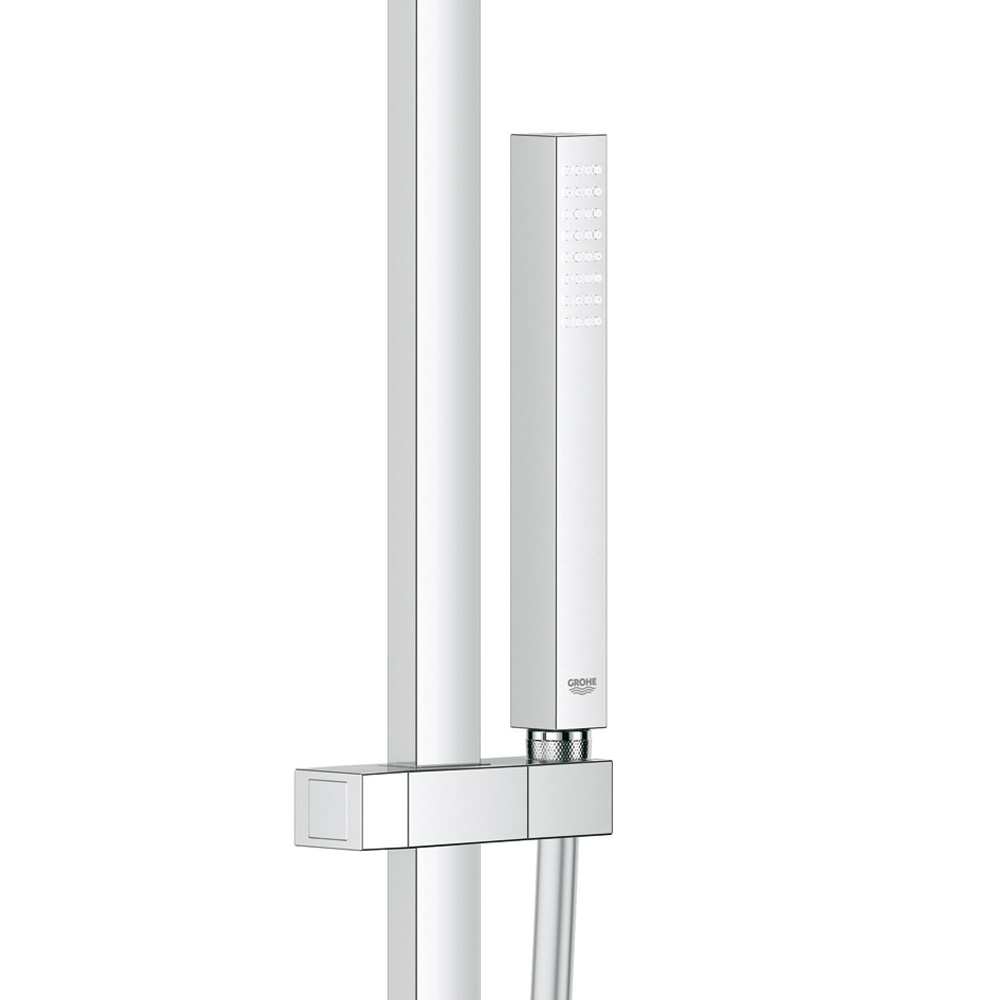 grohe euphoria cube xxl system 230 duschsystem mit einhandmischer f r wandmontage 23147001. Black Bedroom Furniture Sets. Home Design Ideas