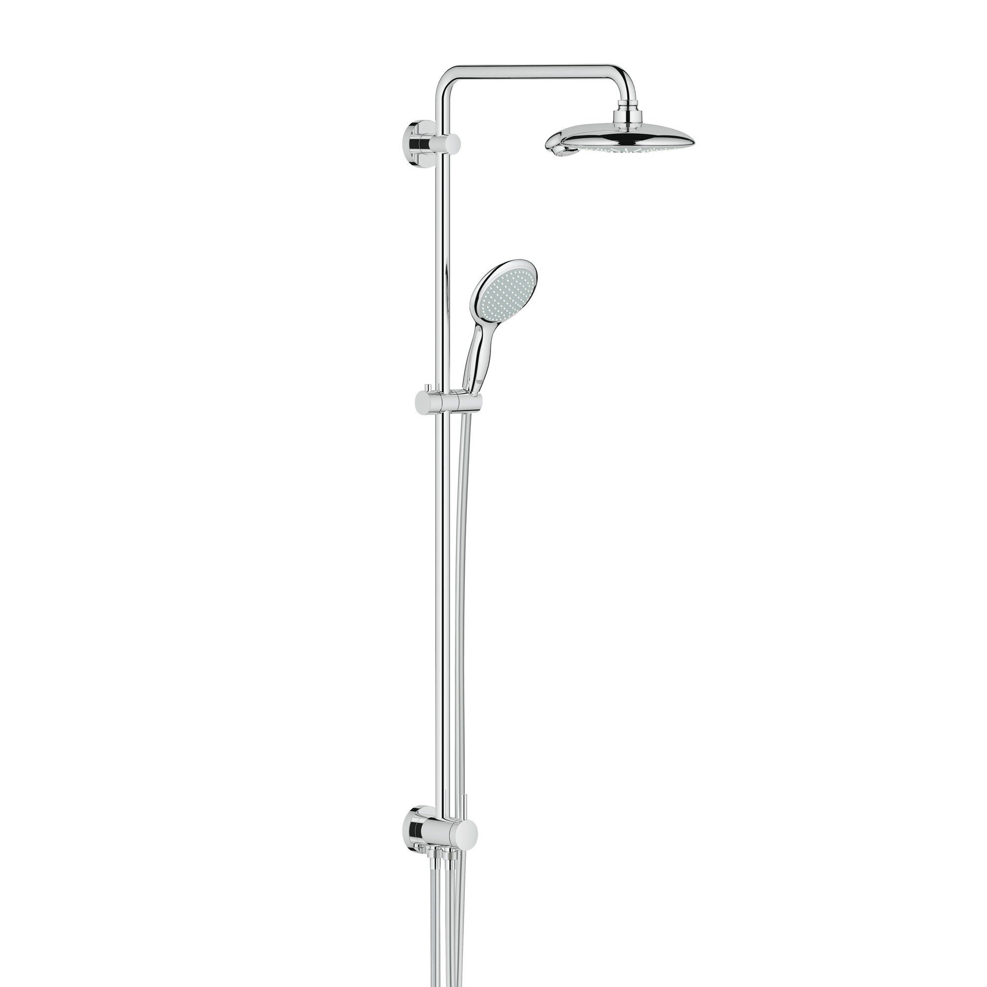 grohe euphoria power soul system 190 duschsystem mit. Black Bedroom Furniture Sets. Home Design Ideas