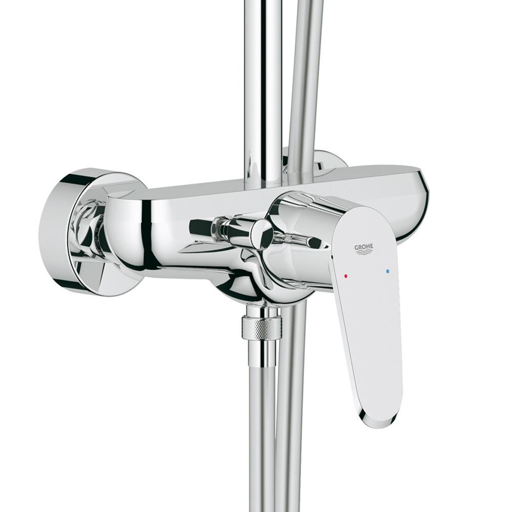 grohe euphoria xxl system 210 duschsystem mit einhandmischer f r wandmontage 23058003 reuter. Black Bedroom Furniture Sets. Home Design Ideas