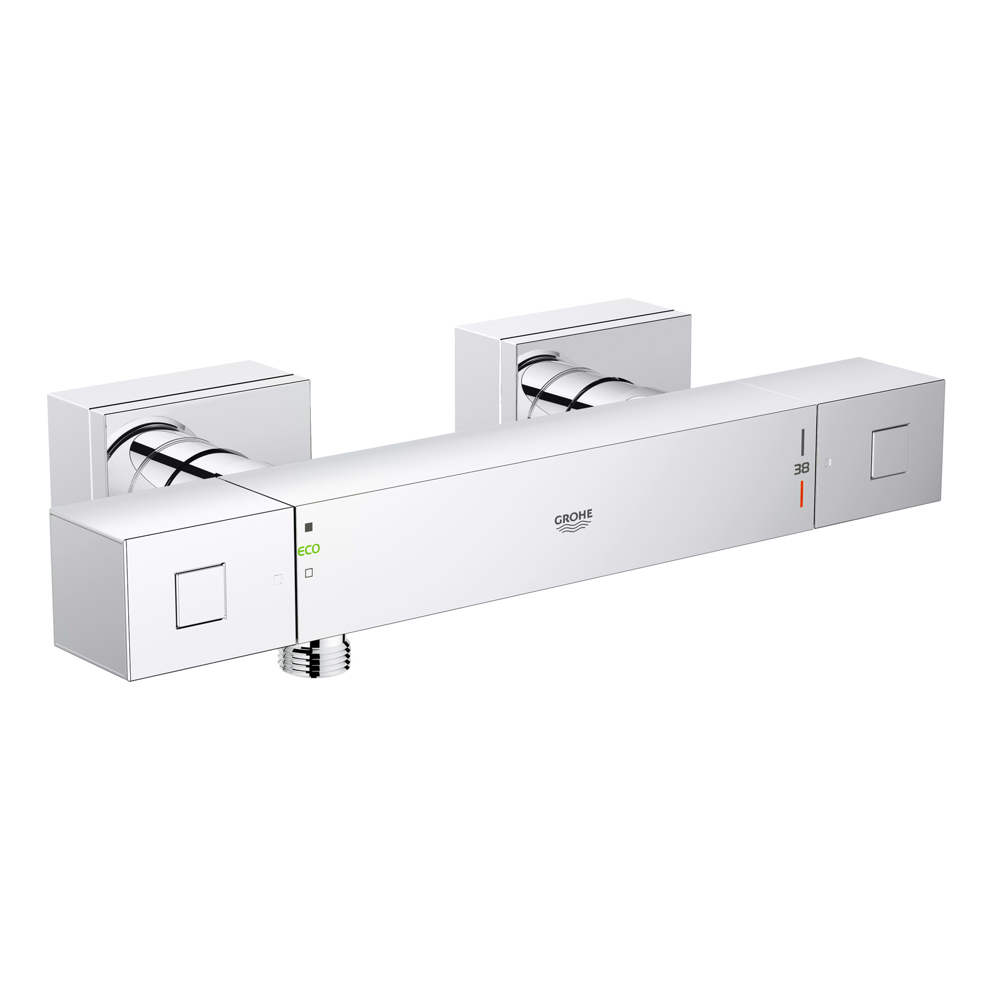 grohe grohtherm cube thermostat brausebatterie dn 15 34488000 reuter onlineshop. Black Bedroom Furniture Sets. Home Design Ideas