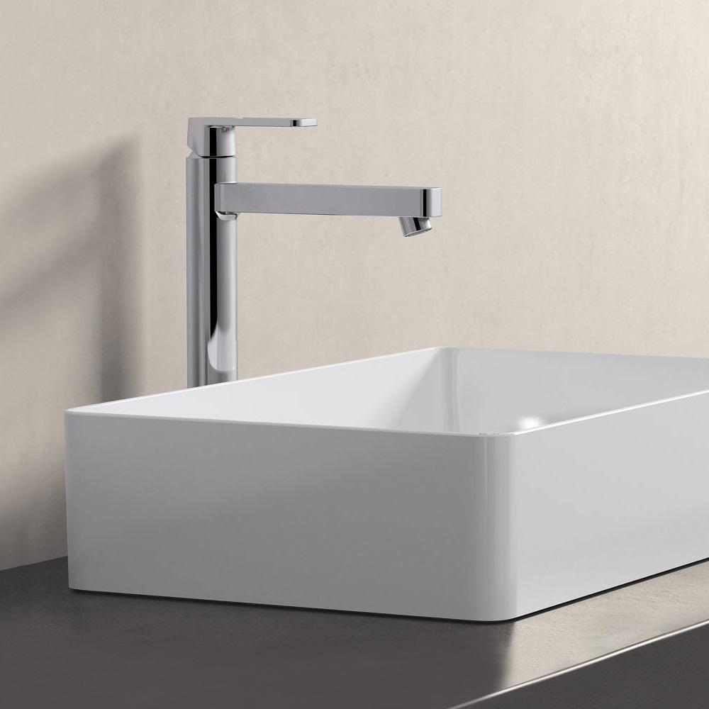 grohe quadra einhand waschtischbatterie dn15 f r. Black Bedroom Furniture Sets. Home Design Ideas
