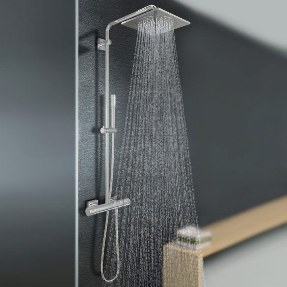 grohe rainshower f series duschsystem f r die wandmontage 27469000 reuter onlineshop. Black Bedroom Furniture Sets. Home Design Ideas