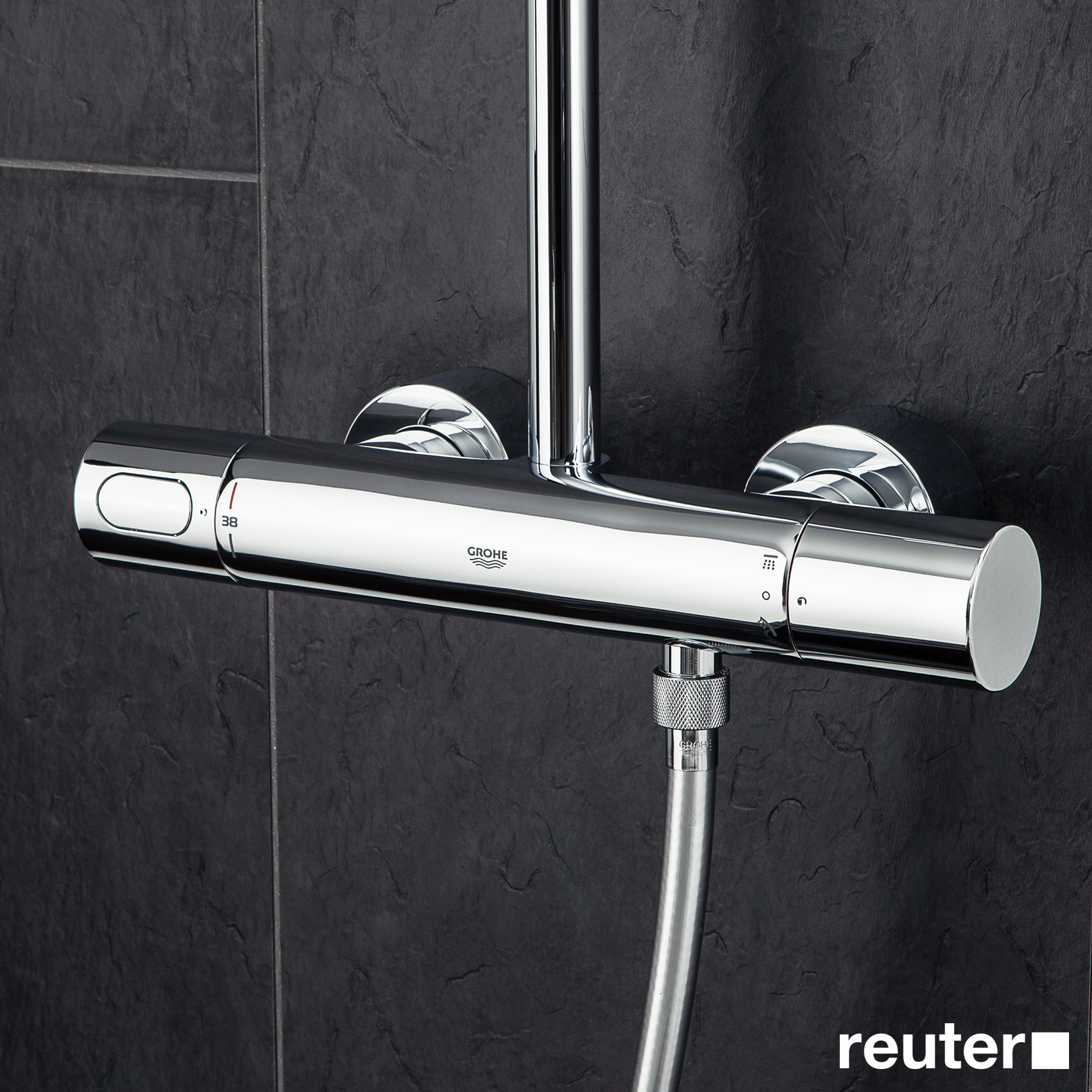 grohe rainshower system 310 duschsystem mit. Black Bedroom Furniture Sets. Home Design Ideas