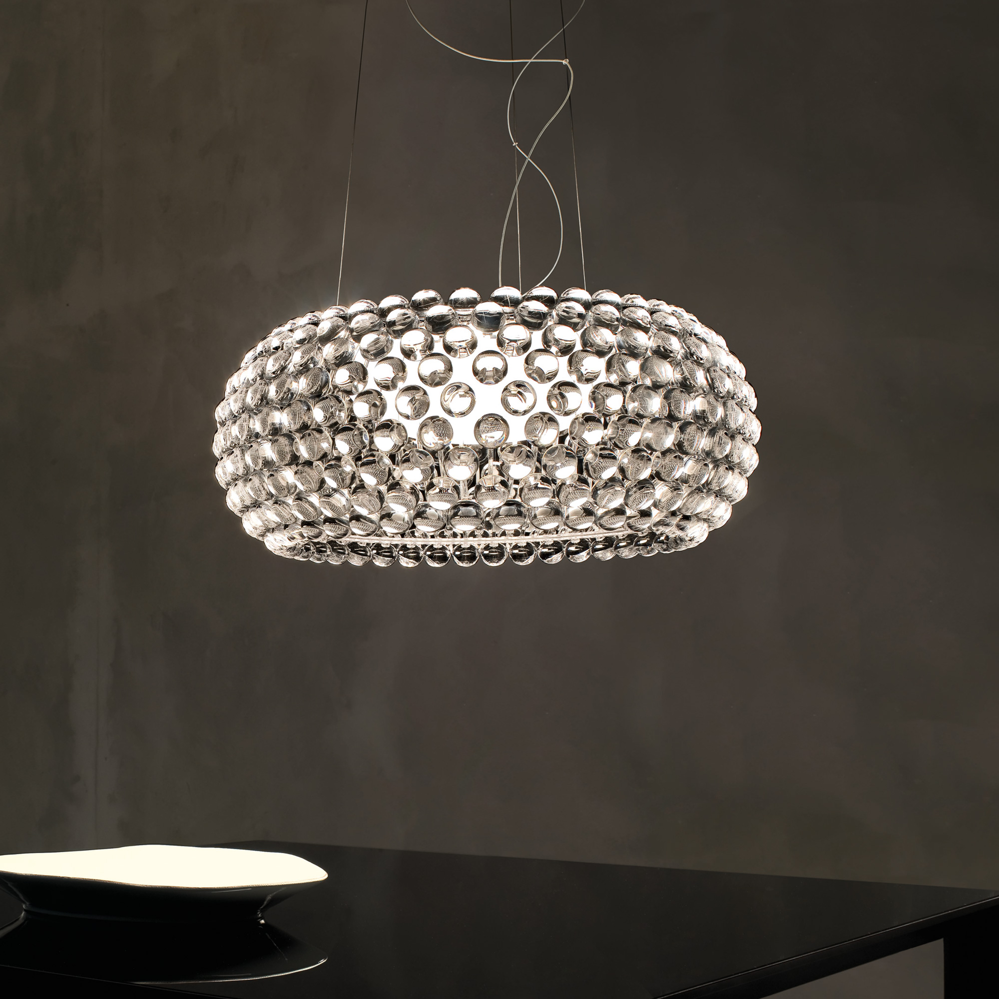 foscarini caboche grande sospensione pendelleuchte 13801716 reuter onlineshop. Black Bedroom Furniture Sets. Home Design Ideas