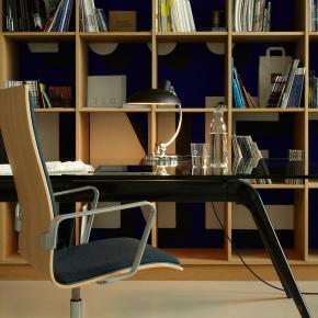 kaiser idell 6631 luxus tischleuchte ki 6631 luxus matt. Black Bedroom Furniture Sets. Home Design Ideas