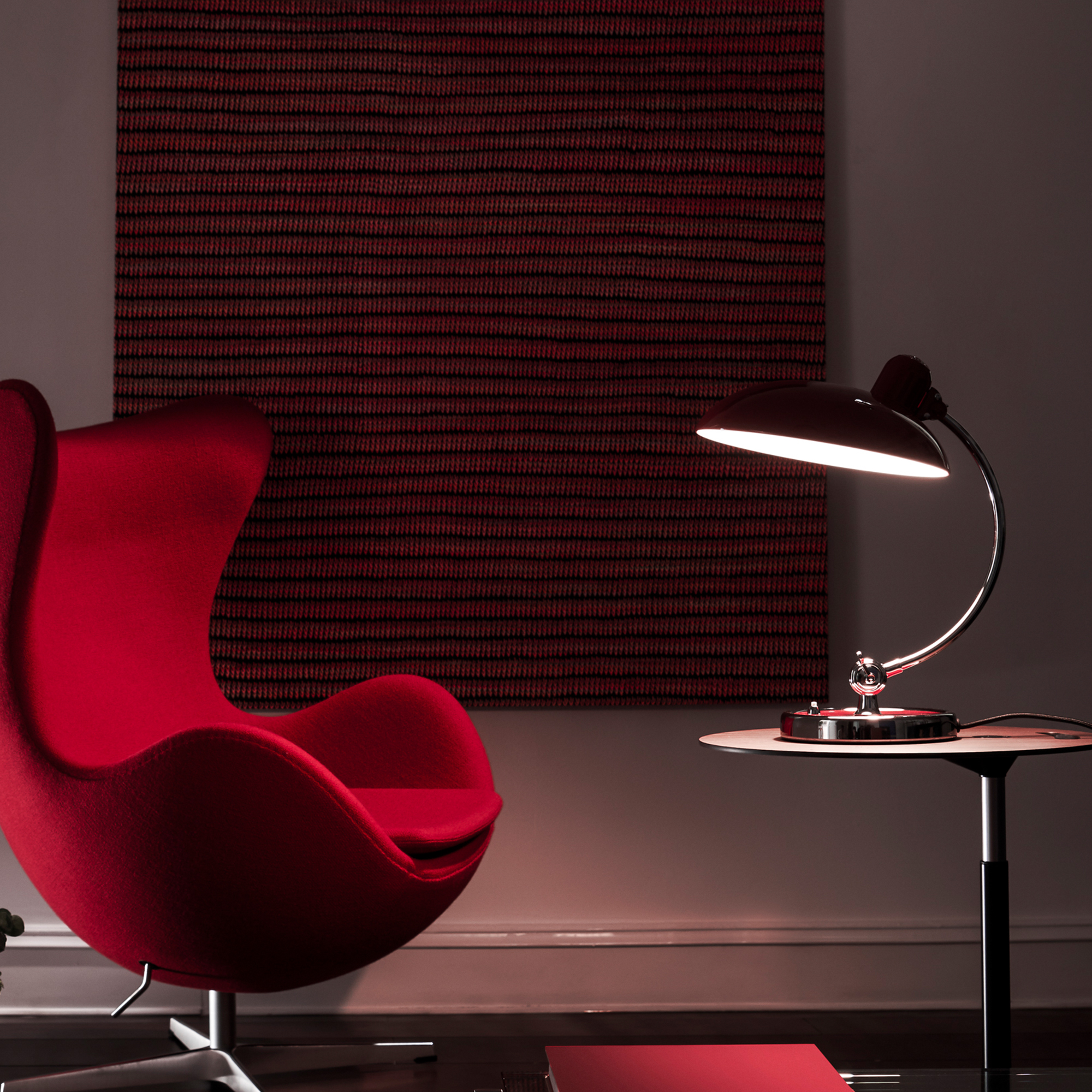 kaiser idell 6631 luxus tischleuchte ki 6631 luxus gr n. Black Bedroom Furniture Sets. Home Design Ideas