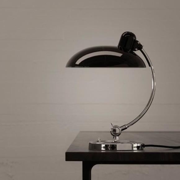 kaiser idell 6631 luxus tischleuchte ki 6631 luxus schwarz reuter onlineshop. Black Bedroom Furniture Sets. Home Design Ideas