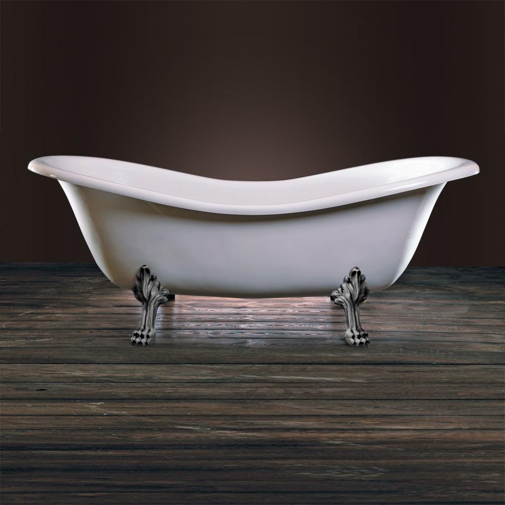 schr der cleopatra retro style freistehende badewanne wei. Black Bedroom Furniture Sets. Home Design Ideas
