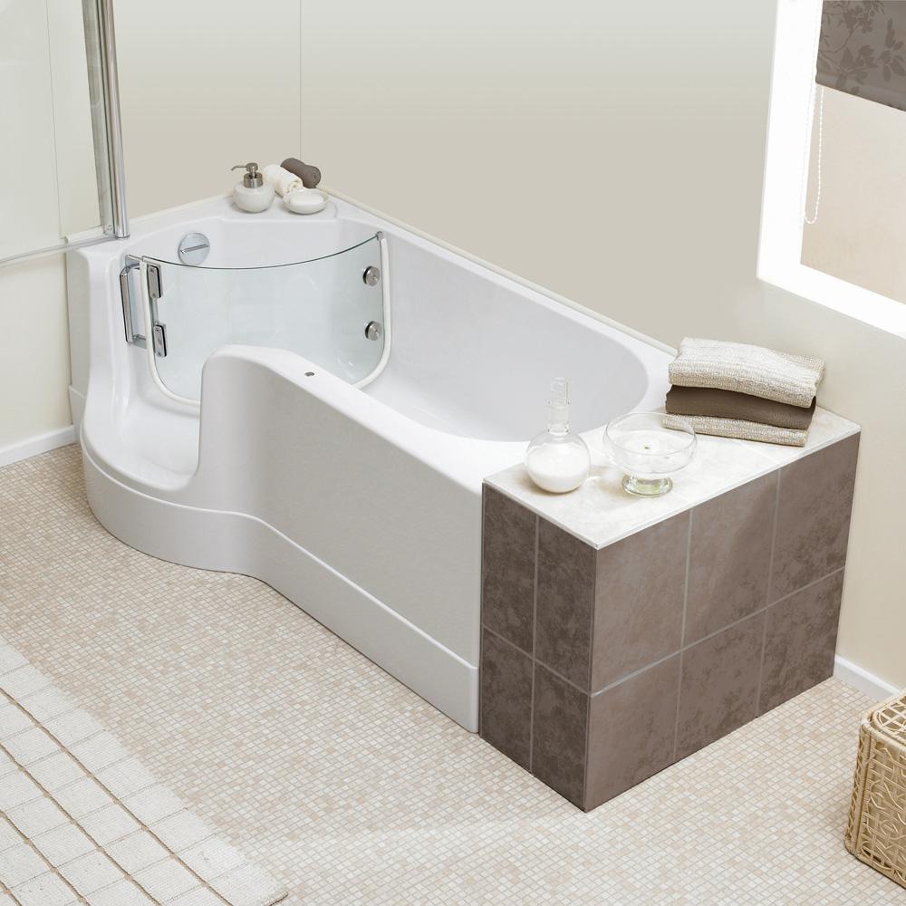 schr der pazifik badewanne mit duschzone ausf hrung links 0020243025001 reuter onlineshop. Black Bedroom Furniture Sets. Home Design Ideas