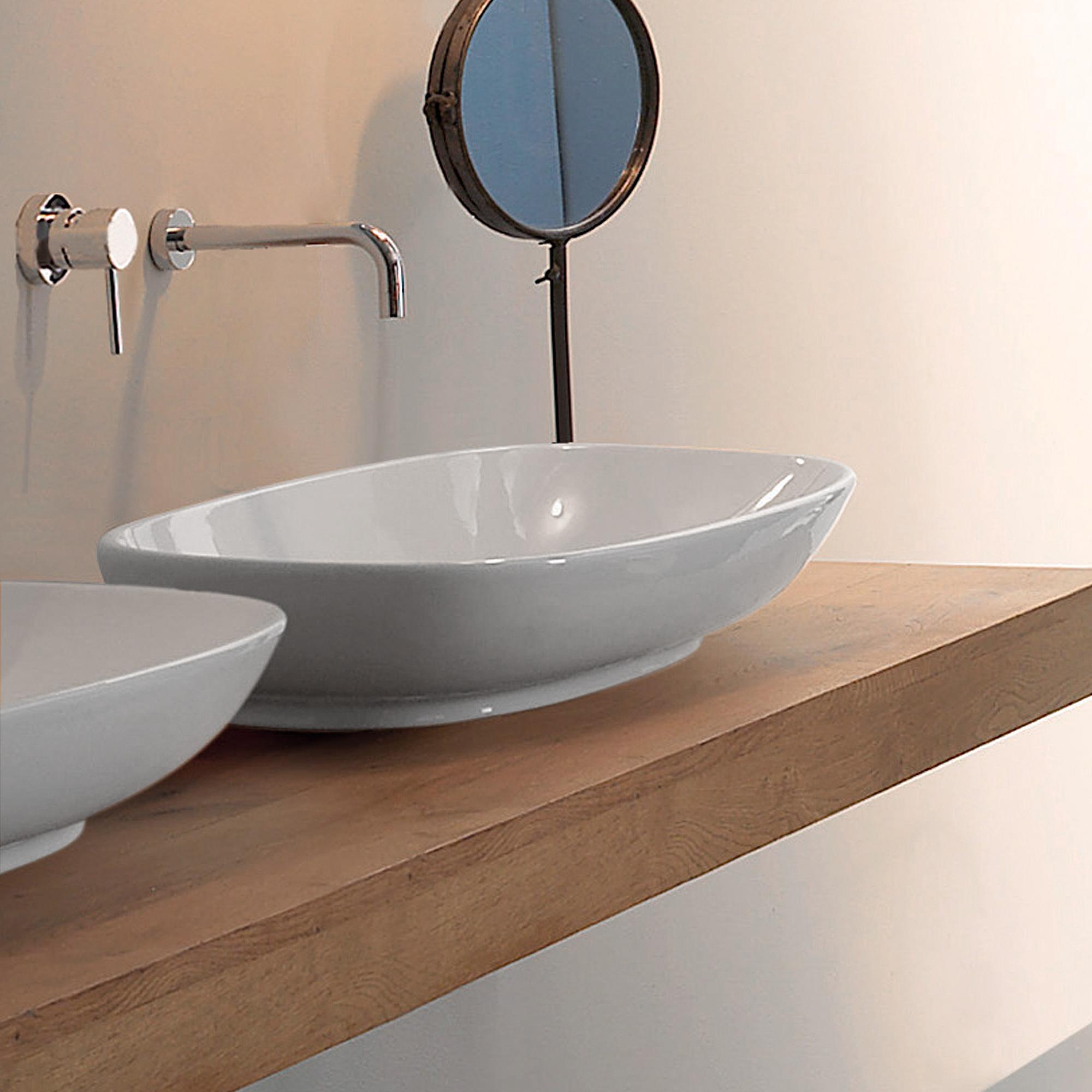 globo stockholm aufsatzwaschbecken b 70 h 16 5 t 37 cm. Black Bedroom Furniture Sets. Home Design Ideas
