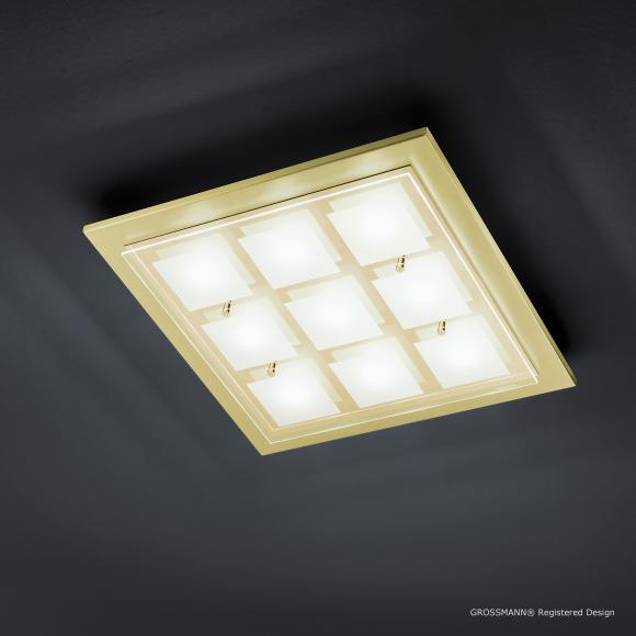 decken led leuchten grossmann preisvergleiche. Black Bedroom Furniture Sets. Home Design Ideas