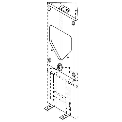 grumbach eck urinal visit stein h he 108 cm 1331 v g. Black Bedroom Furniture Sets. Home Design Ideas