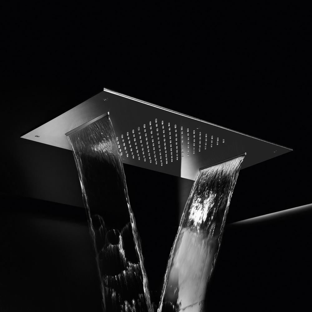 herzbach living spa deckeneinbau regenbrause b 700 t 380 mm reuter onlineshop. Black Bedroom Furniture Sets. Home Design Ideas
