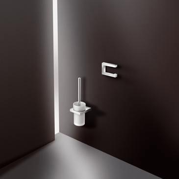 hewi system 100 wc b rstengarnitur chrom. Black Bedroom Furniture Sets. Home Design Ideas