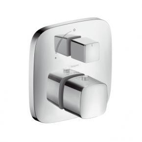 hansgrohe puravida thermostat unterputz mit absperrventil. Black Bedroom Furniture Sets. Home Design Ideas