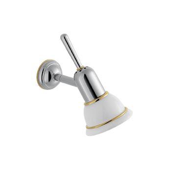 hansgrohe axor carlton wandlampe chrom gold optik. Black Bedroom Furniture Sets. Home Design Ideas