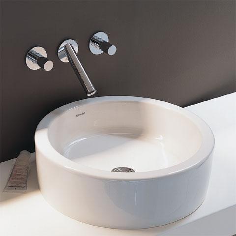 hansgrohe axor starck 3 loch wandarmatur f r waschtisch. Black Bedroom Furniture Sets. Home Design Ideas
