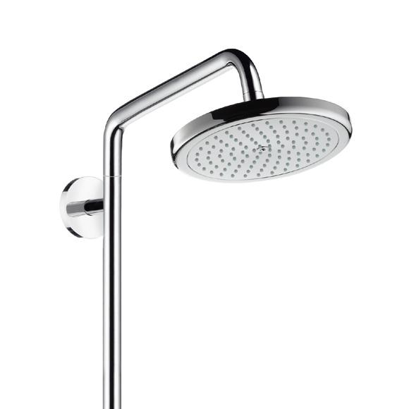 hansgrohe croma 220 air 1jet showerpipe reno 27224000 reuter onlineshop. Black Bedroom Furniture Sets. Home Design Ideas