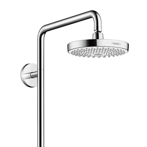 hansgrohe croma select s 180 2jet showerpipe 27253400 reuter onlineshop. Black Bedroom Furniture Sets. Home Design Ideas