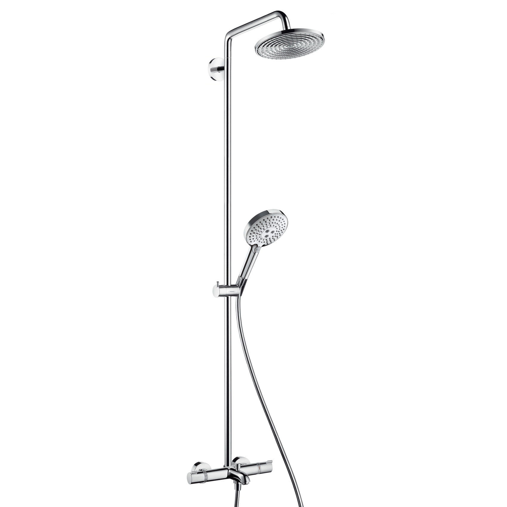 Bath Shower Mixer Thermostatic Hansgrohe Raindance Select S 240 1jet Showerpipe Wanne