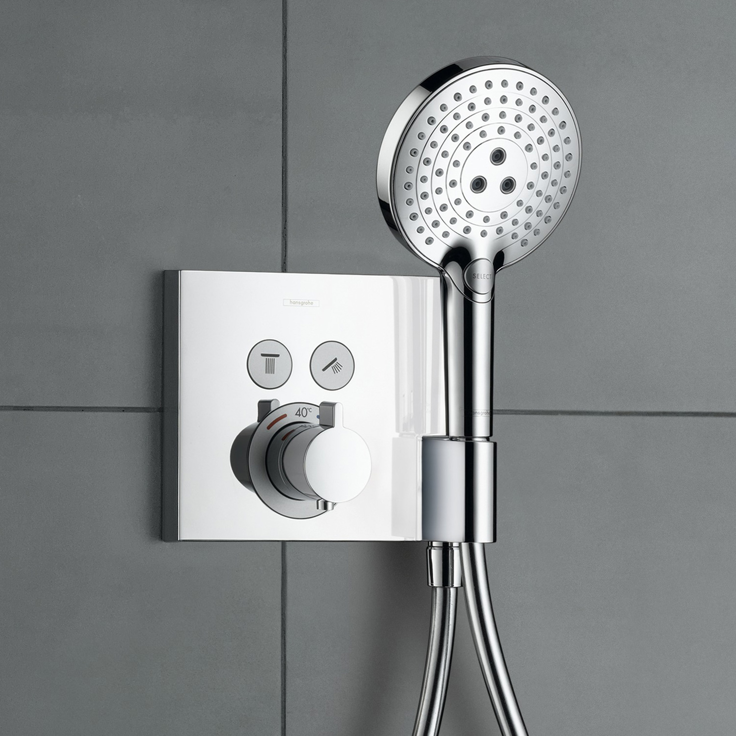 Hansgrohe Unterputz Thermostat : hansgrohe showerselect thermostat unterputz f r 2 ~ Watch28wear.com Haus und Dekorationen