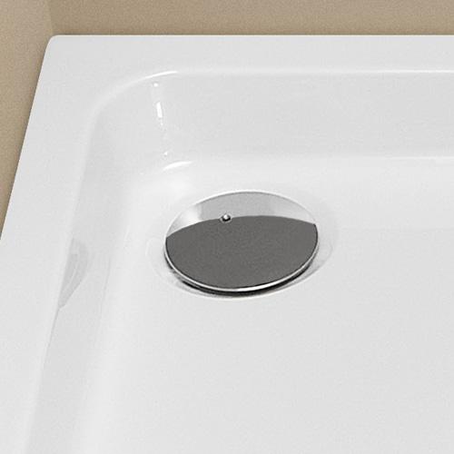 hoesch zubeh r pl 1 ablaufarmit f r superfl duschwanne verchromt preisvergleich. Black Bedroom Furniture Sets. Home Design Ideas