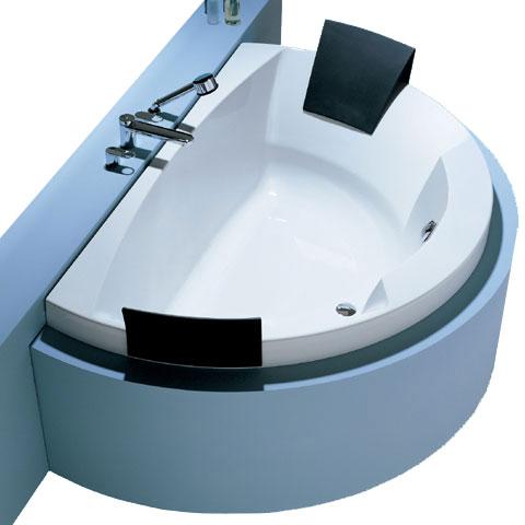 hoesch aviva badewanne halbrund mit 2 r ckenst tzen wei reuter onlineshop. Black Bedroom Furniture Sets. Home Design Ideas