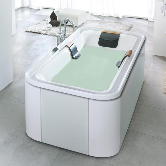 hoesch ergo rechteck badewanne freistehend wei. Black Bedroom Furniture Sets. Home Design Ideas