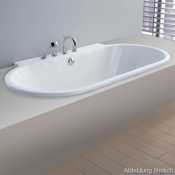 hoesch foster halbrunde badewanne wei reuter. Black Bedroom Furniture Sets. Home Design Ideas