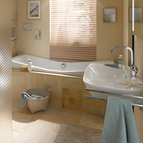 Hoesch foster rechteck badewanne l 190 b 90 h 47 cm for Sechseck badewanne 190x90