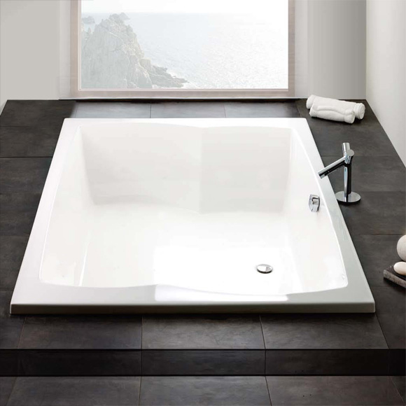 hoesch largo rechteck badewanne wei reuter. Black Bedroom Furniture Sets. Home Design Ideas