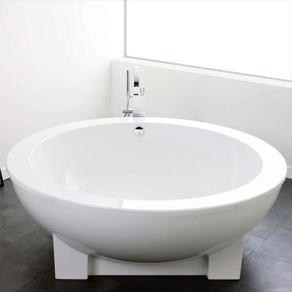 hoesch michael graves dreamscape badewanne rund freistehend weiss ohne bohrung. Black Bedroom Furniture Sets. Home Design Ideas