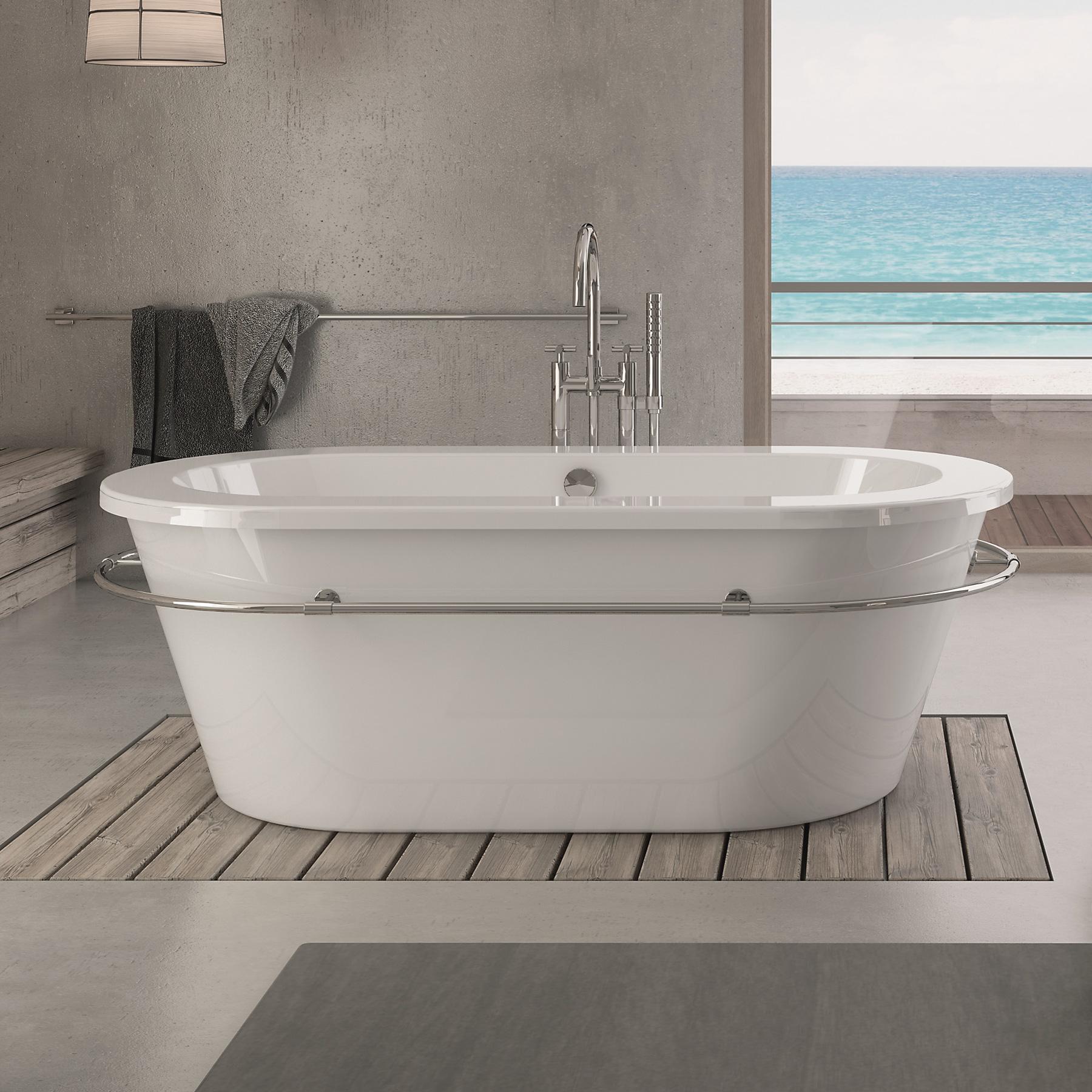 hoesch philippe starck edition 1 badewanne freistehend weiss ohne bohrung. Black Bedroom Furniture Sets. Home Design Ideas