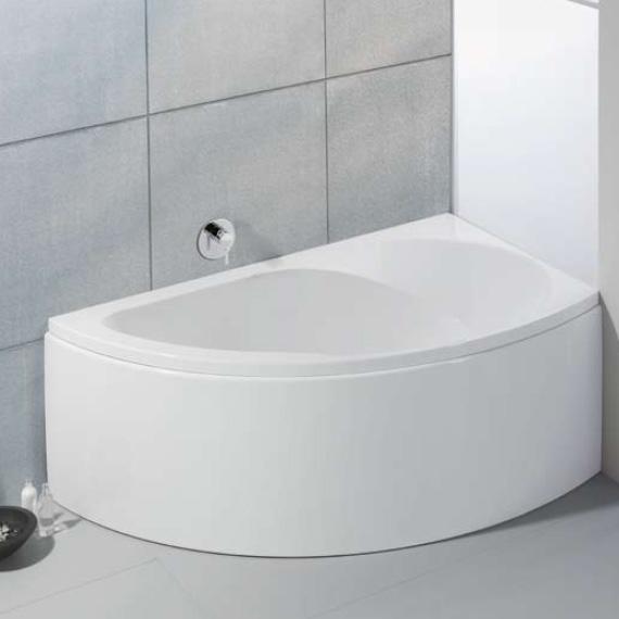 hoesch spectra eck badewanne rechts mit sch rze wei reuter onlineshop. Black Bedroom Furniture Sets. Home Design Ideas
