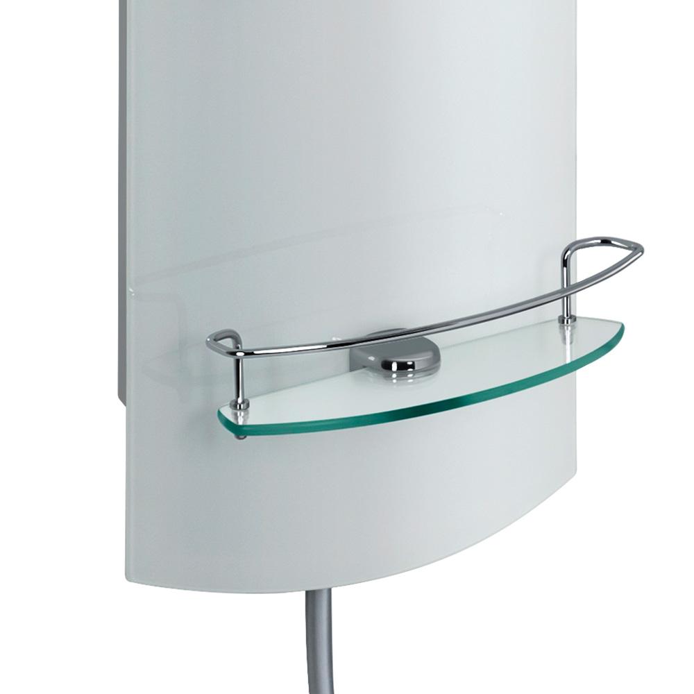 hsk adp 100 glas duschpaneel b 330 h 1440 mm kopfbrause 300 h 2 mm glas wei 1001500. Black Bedroom Furniture Sets. Home Design Ideas