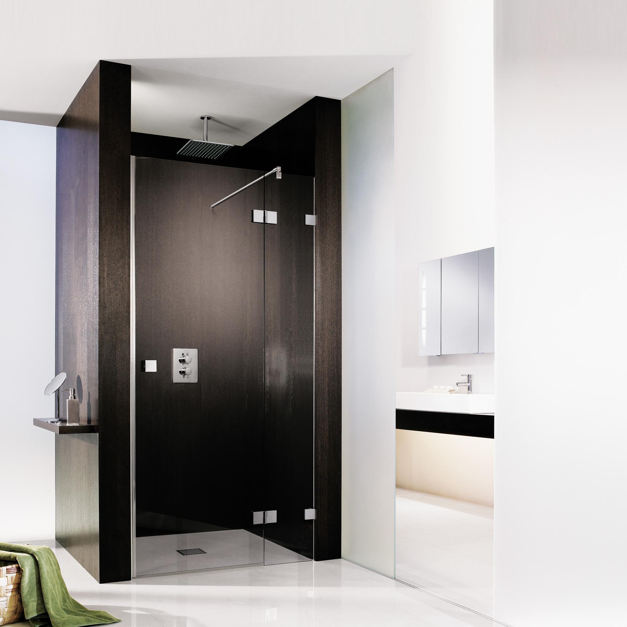hsk atelier pur dreht r in nische klar hell chrom reuter onlineshop. Black Bedroom Furniture Sets. Home Design Ideas