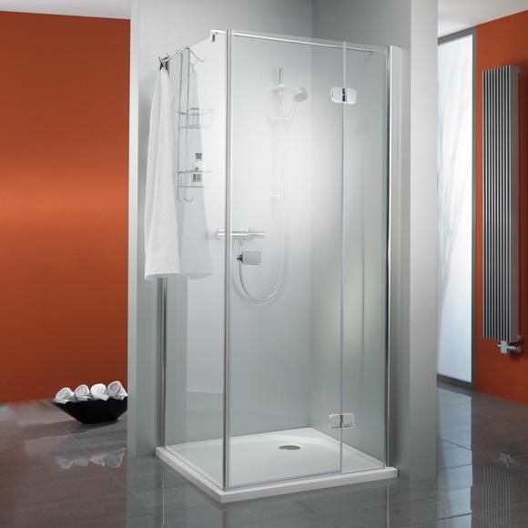 hsk premium softcube dreht r f r seitenwand klar hell edelglas chrom optik wem 88 5 90 5 cm. Black Bedroom Furniture Sets. Home Design Ideas