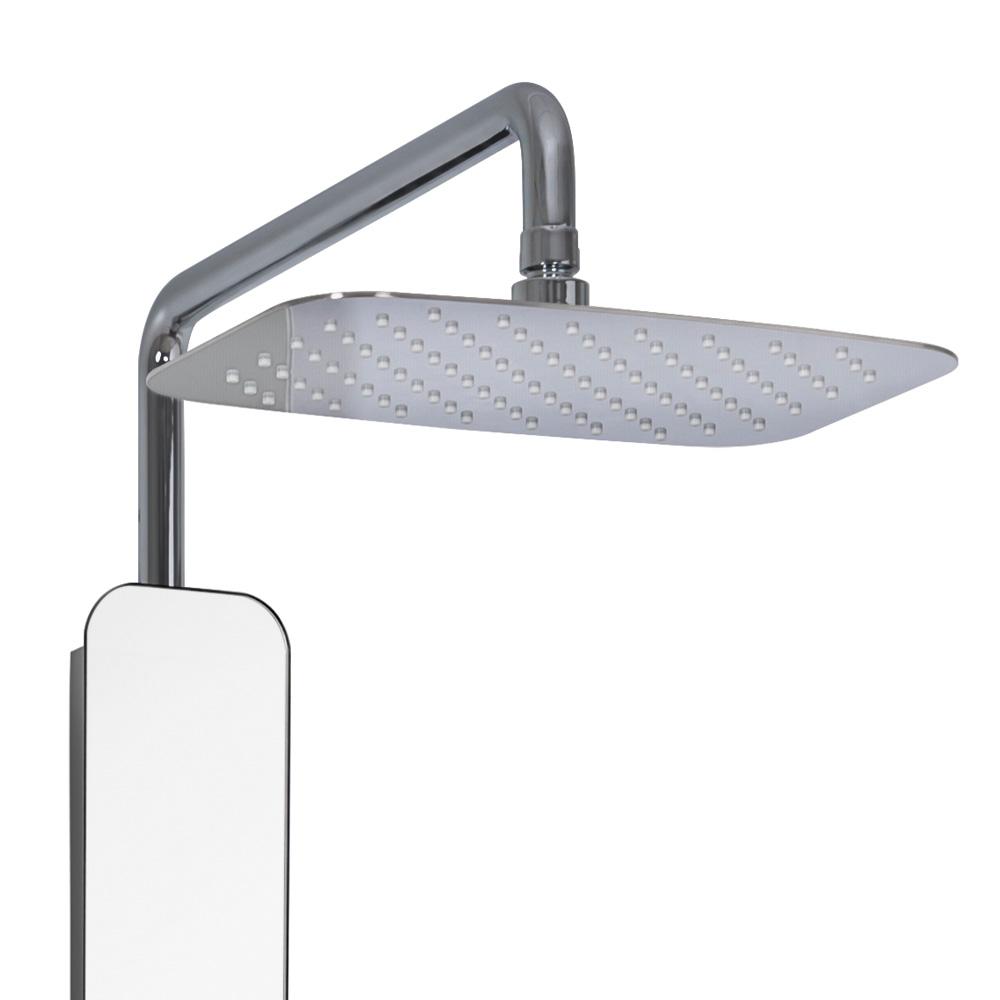 hsk softcube xs2 glas duschpaneel b 315 h 1730 mm mit kopfbrause b 300 t 200 mm glasfarbe. Black Bedroom Furniture Sets. Home Design Ideas