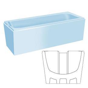 poresta systems prosan wannentr ger saniform plus 170x75. Black Bedroom Furniture Sets. Home Design Ideas