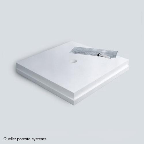 poresta systems poresta bf bf kmk limit s unterbauelement 120 x 120 cm plattenst rke 5 cm. Black Bedroom Furniture Sets. Home Design Ideas