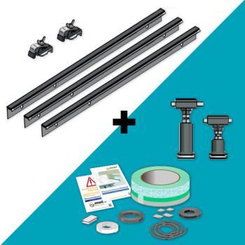 ideal standard brausewannen montagesatz gr e 2 k936067 reuter onlineshop. Black Bedroom Furniture Sets. Home Design Ideas