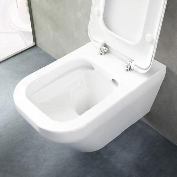 ideal standard tonic ii wandtiefsp lklosett sp lrandlos l 56 5 b 36 cm wei mit ideal plus. Black Bedroom Furniture Sets. Home Design Ideas