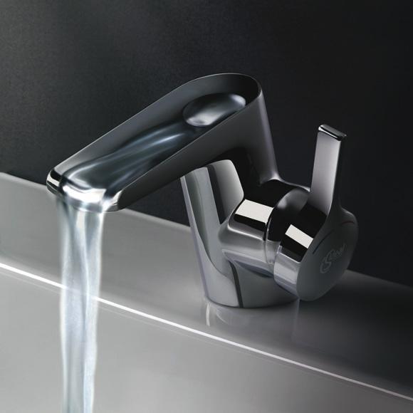 Ideal Standard Melange Einhebel-Waschtischarmatur Wasserfall DN15 B8630AA