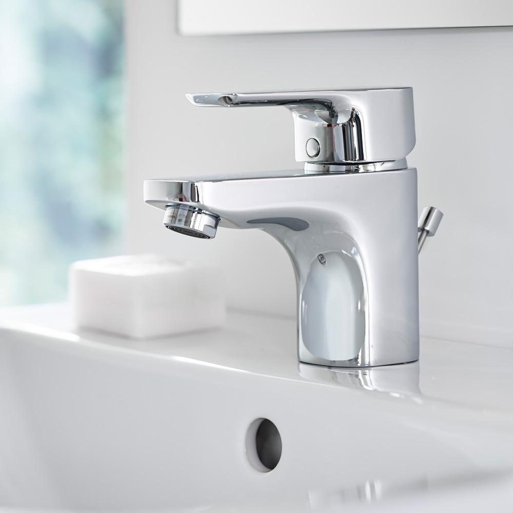 ideal standard ceraplan iii einhebel waschtischarmatur h 129 mm mit ablaufgarnitur b0700aa. Black Bedroom Furniture Sets. Home Design Ideas