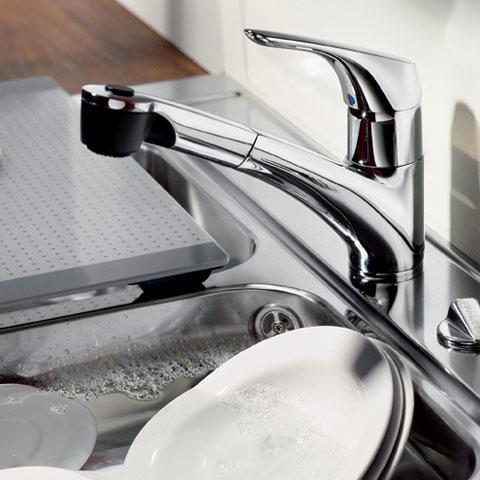 ideal standard cerasprint k chenarmatur mit handbrause chrom b5347aa reuter onlineshop. Black Bedroom Furniture Sets. Home Design Ideas