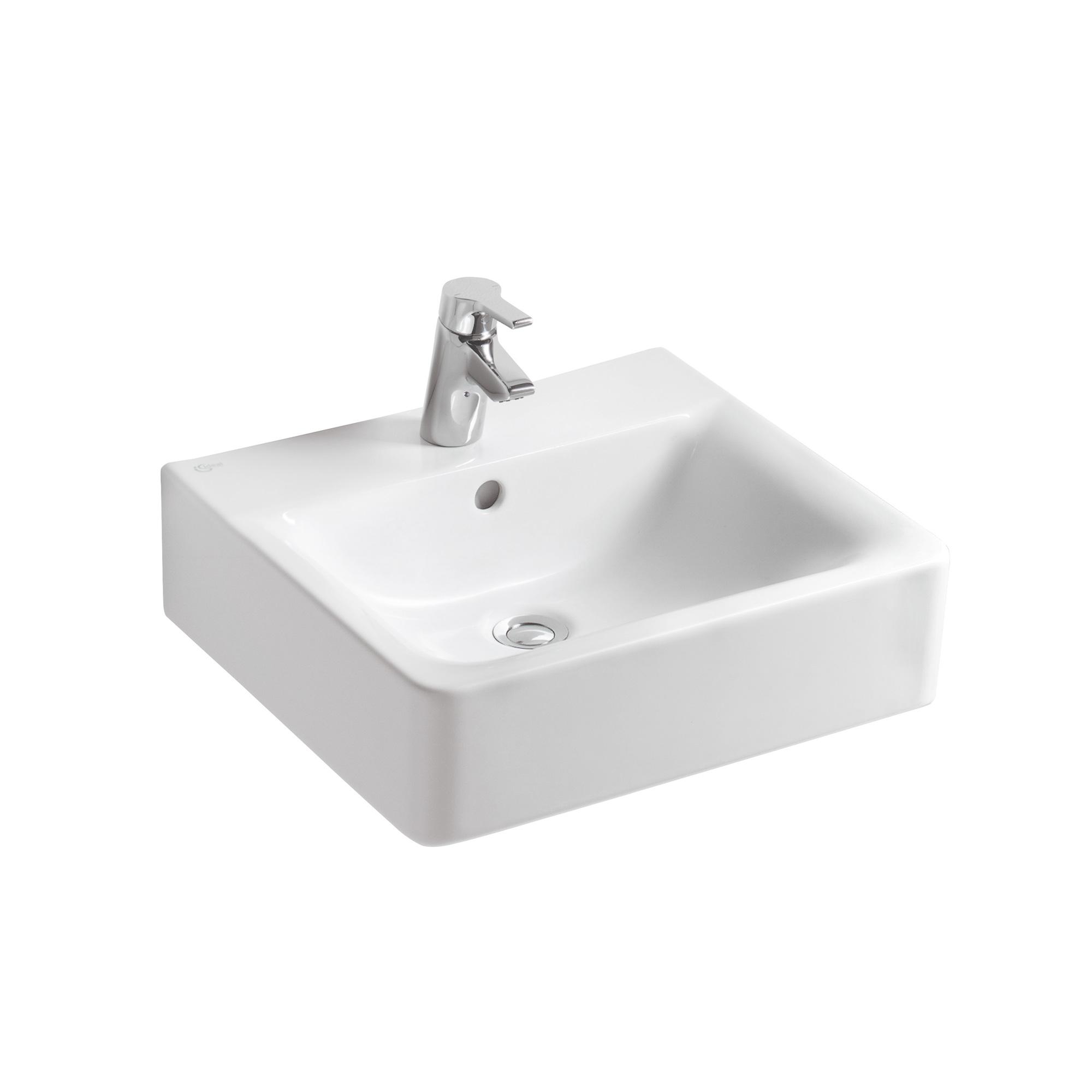 ideal standard connect cube waschtisch wei e713801 reuter onlineshop. Black Bedroom Furniture Sets. Home Design Ideas
